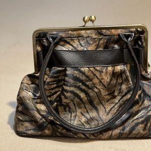 Vintage animal print purse